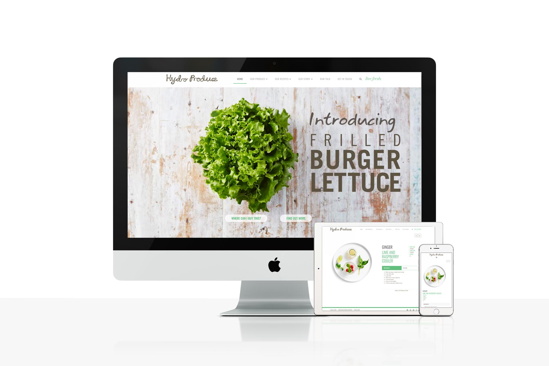 Web Design & Development Project - Hydro Produce - By Design Counsel